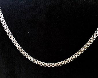 """Sterling Silver, 24"""" Bismark Chain"""