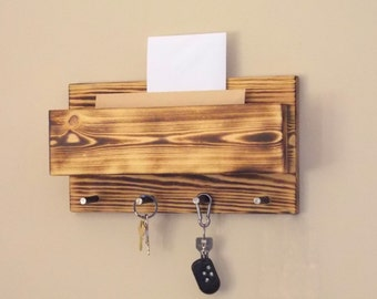 key holder key holder wall key hook Key Hooks Shelving House Warming Gift  key hook shelf Home Decor wall key hanger Wall Hangings rustic