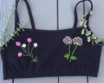 Spring weeds bralette