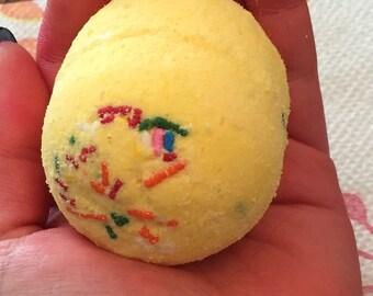 Lemon Sprinkle Bath Bomb