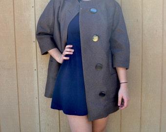Vintage 1960s Wool Coat