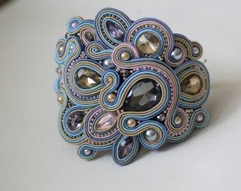 Amazing soutache bracelet