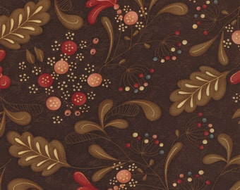 Late Bloomers by Sandy Gervais (17621-15) Quilting Fabric by the 1/2 Yard