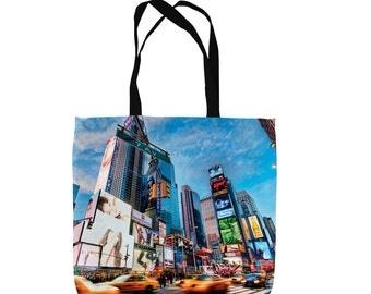 New York City Rush Hour Design Tote Bag Shopping Bag Beach Bag School Bag