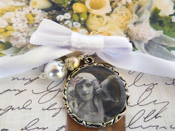 Wedding Bouquet Photo Charm For