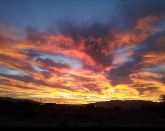 Sunrise in Hesperia CA Photograph KV