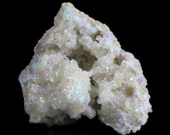 Amazing Angel Aura Druzy Crystal Cluster