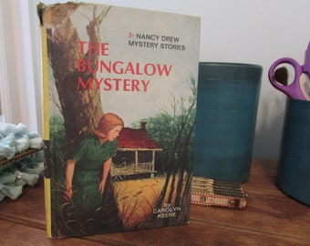 Vintage Nancy Drew Book - The Bungalow Mystery - CLOSET CLEAN OUT