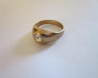 Vintage 14KTGE Espo Men's Designer Ring