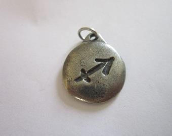 Vintage Retro Respect Charm or pendant