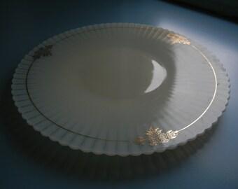 Petalware Cake Plate ~ MacBeth - Evans