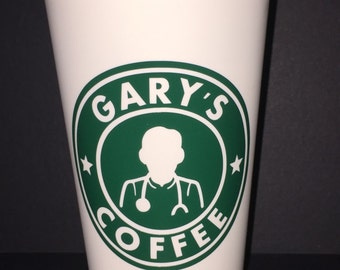Male Nurse Personalized Starbucks Cup