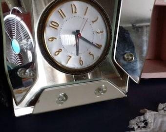 vintage vanity clock