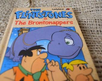 Ladybird Book. The Flintstones in The Brontonappers. Series 8914. Hanna Barbera. First Edition.