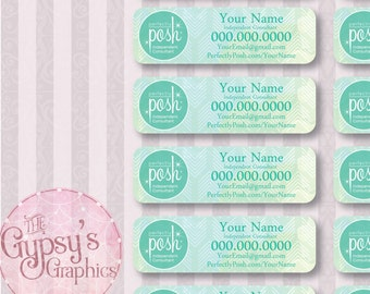 Perfectly Posh Labels, Green Arrow