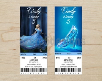 Cinderella Invitation, Cinderella Party, Cinderella Birthday Invitation, Cinderella Birthday Party, Cinderella Party, Cinderella invite