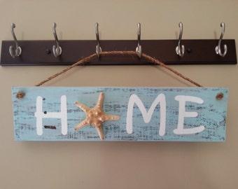Home Starfish Sign