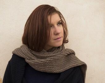 beige lamb scarf beige wool scarf beige scarf beige knit scarf beige knitted scarf beige hand knit scarf beige winter scarf beige long scarf