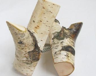 Tree Branch Hooks, Wood Wall Hooks, Set of 2 Birch Hook, Rustic Wooden Wall Hook, Eco Friendly Wood Birch, Rustic Home Decor