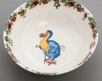 Alice In Wonderland Cereal Bowl - The Dodo