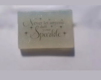 Handcrafted Glycerin Sparkle Soap
