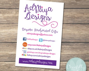 Business Cards - Small Business Stationery - Branding