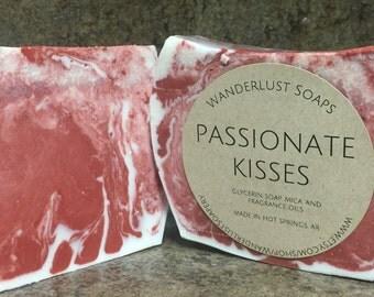 Passionate Kisses Soap