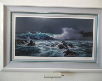 """Limited Edition Tabora Lithograph """"Light of the Midnight Sky"""""""