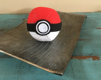 Handmade Felt Pokeball/Pokemon Ball