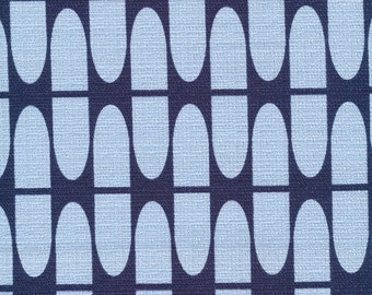 Cloud9 - In Theory - HALF LIFE BLUE - Barkcloth - cotton fabric