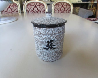 JAPAN TEA CONTAINER with Lid