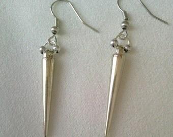 Gothic/Steampunk Spike Earrings