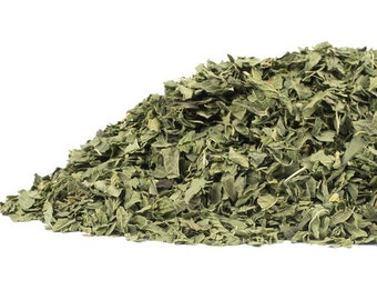 ORGANIC SPEARMINT leaf, you choose size.  New Low Price!  Teas, Infusions, Sachets, Rituals. Uses- Traditional, Wiccan, Herbalist.
