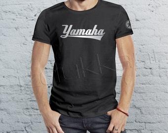 yamaha, t shirt, t-shirt, crew neck tshirt