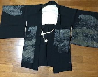 Haori/SHORT KIMONO SILK coat