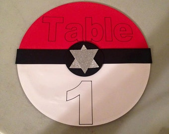 10 Pokemon Table Numbers