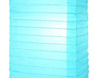 Water Blue Hako Paper Lantern - 8HKO-WB