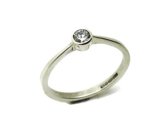 Diamond engagement ring|silver engagement ring|solitare ring|simple diamond ring|affordable engagement ring| marry me|proposal