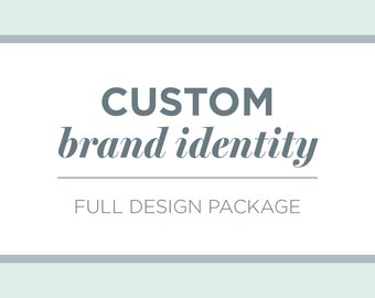 Full Branding Package | Business Branding | Custom Brand Identity Design | Logo Design