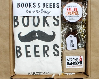 Valentines Day Gift for Him. Beer Lover Gift. Book Lover Gift. Male Teacher Gift. Birthday Gift for Him. Care Package for Dad. Gift Basket