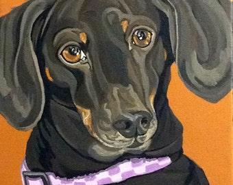 Pet Portrait Custom, Dog Painting Custom, Pet Portrait, Pet Painting, Dog Portrait, Pet Lover Gift, From Photograph, Memorial Pet Portrait