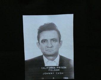 13.5 x 13.5 Tote Bag - Johnny Cash