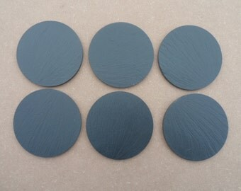 Set of Four, Six or Eight Welsh Slate Coasters