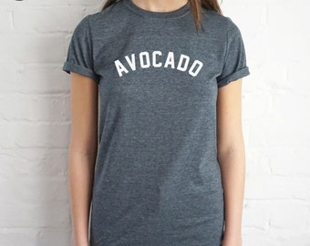 Avocado T-shirt Top Shirt Tee Summer Fashion Blogger Slogan Vegan Vegetarian