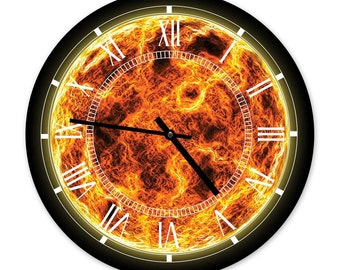 The Sun - Designer Space Wall Clock