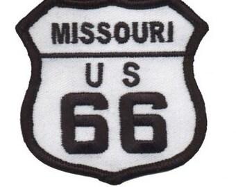 Missouri Route 66 Patch (Iron on)