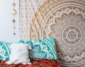 Golden Sunset Tapestry