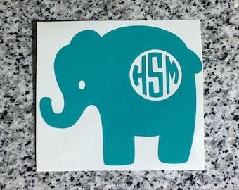 Monogrammed Elephant