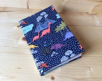 Artist Lined Dinosaur Book | Coptic Stitch | Sketchbook | Journal | Notebook