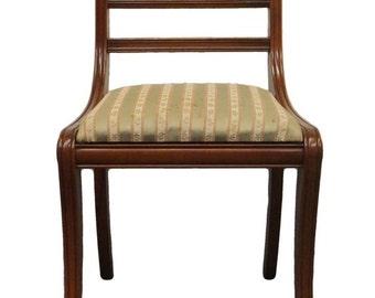 CONSIDER WILLETT Wildwood Cherry Rope Twist Side Chair